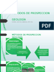 Metodos de Prospeccion Basado en Geologia