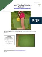 Placemat Bag Tutorial 2