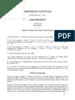 Amendement au PLFSS 2017 visant à élargir le bénéfice du taux nul de CSG aux retraités modestes