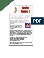 Creative Teasers 5