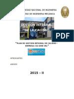 Informe_final_de_gestion_de_calidadl Para Metodologia de La Investigacion