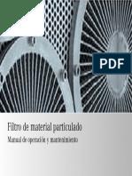 Manual Filtro DPF