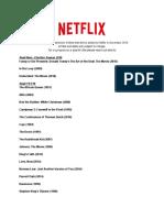 November Netflix