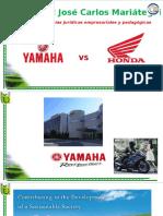 lucha de dos marcas empresariales  yamaha versus honda.pptx
