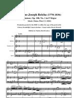Reicha Op.100 Nº 1_partitura