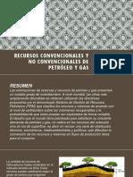 Recursos Convencionales y No Convencionales de Petróleo y Completo