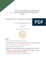 Vulnerabilities TCP/IP
