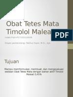 OTM Timolol Maleat