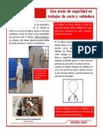 Ficha Tecnica Ds 02-11 Uso Arnes de Seguridad