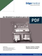 Air-Shields Incubadora Para Neonatos Isolette