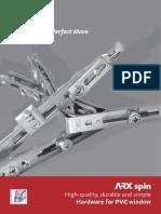 ARXspin-katalog