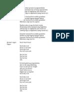 Lyrics OPM Medley