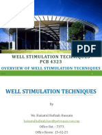 1. WST - Overview of Well Stimulation Techniques