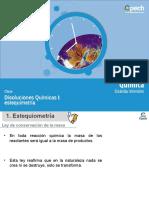 Estequiometría I Leyes y Conceptos de La Estequiometría