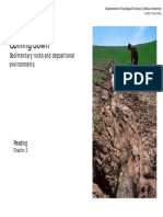 Lecture 6 - Sedimentary Rocks and Depositional Environments