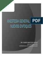 Anestesia General y Nuevos Enfoques