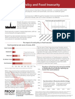 PROOF - Public Policy and Food Insecurity - Factsheet