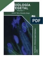 Fisiología Vegetal, Volumen 1 - Lincoln Taiz y Eduardo Zeiger