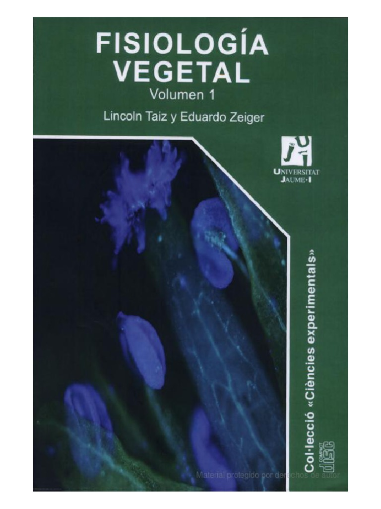 fisiologia vegetal lincoln taiz y eduardo zeiger pdf gratis