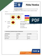Hoja Seguridad Cemento Solvente TIGRE (PVC-CPVC)