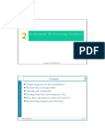 Lesson 2-3 Fundamental File Processing Operations