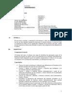 Syllabus Literatura II - Luis Eduardo Lino Salvador