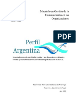 Master Thesis - Perfil Argentina