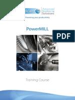 04. PowerMILL 2015 - Training Course 3-Axis En