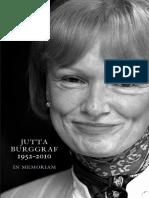 In Memoriam Jutta Burggraf