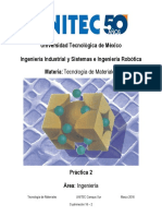 Tecnologia de Materiales-Practica 2-Ensayo de Flexión -16-2-2