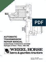62211042 Sunstrand Hydro Service Manual