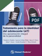 Tratamiento para la Identidad del Adolescente (AIT) - Una Aproximación Integral de la Personalidad.pdf