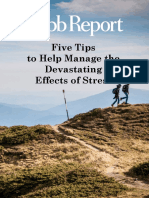 Five Tipps to Help Manage the Destating Effects of Streess by Robbert Report