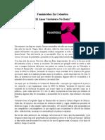 Feminicidios en Colombia