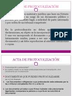 Acta de Protocolizacioìn
