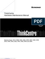 Thinkcentre_m72z Hardware maintenance Manual