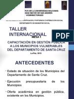 Taller Internacional