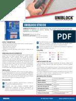 Uni Block Stucco