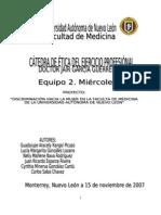 Discriminación hacia la mujer en la Facultad de Medicina de la UANL