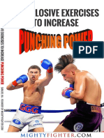 10 Explosive Exercises to Increase Punching Power