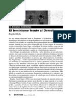 Begoña Zabala Feminismo y Derecho
