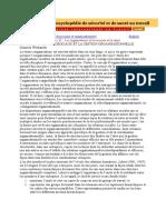 Chapitre 35 - Les Organisations Et La Sécurité Et La Santé