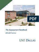 Untd Assessment Handbook-2015-2017 Edition 0