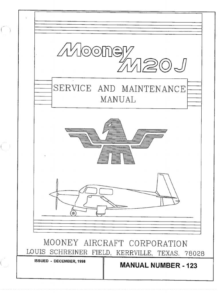 1512128724?v=1 mooney service manual m20j vol 1 of 2 aircraft flight control mooney m20j wire diagram at mifinder.co
