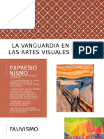 Artes Visuales de Vanguardia