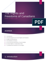 the rights and freedoms of canadians