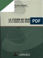 La Cesión de Derechos en el Código Civil Peruano - Fernando Vidal Ramirez.pdf