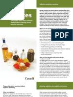 Allergen Sulphites Sulfites Eng