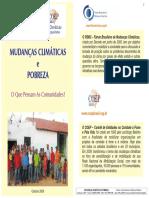 Comunidades Rurais e Mudanças climáticas