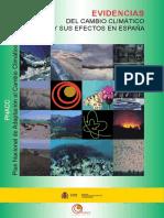 Evidencias CC Efectos España
